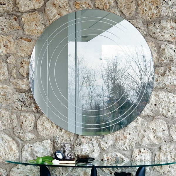 Ring Modern Wall Mirror - Euro Living Furniture