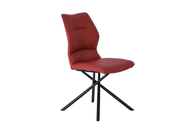 Marlie Burgundy Dining Chair