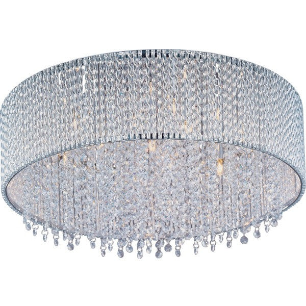 Spiral 7-Light Flush Mount - Euro Living Furniture