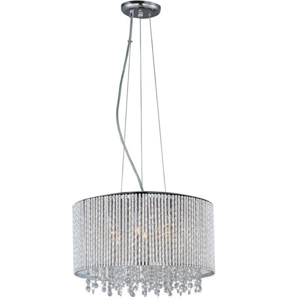 Spiral 7-Light Pendant - Euro Living Furniture
