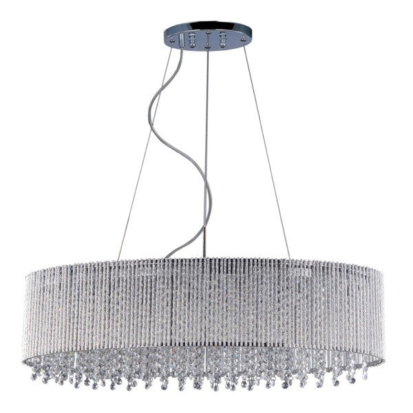 Spiral 6-Light Pendant - Euro Living Furniture