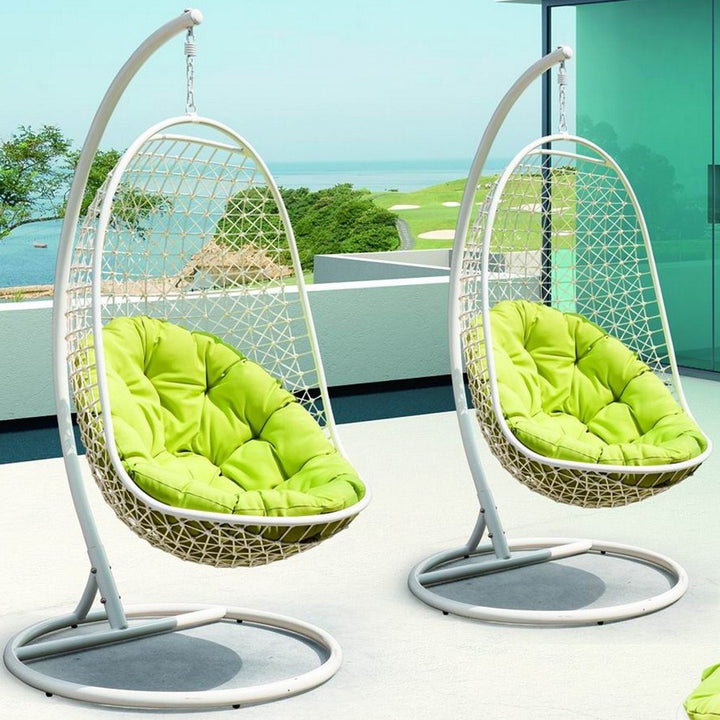 ENCOUNTER SWING OUTDOOR PATIO LOUNGE CHAIR - Euro Living Furniture