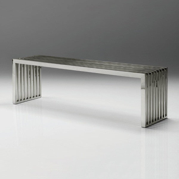 Zeta Stainless Steel Bench