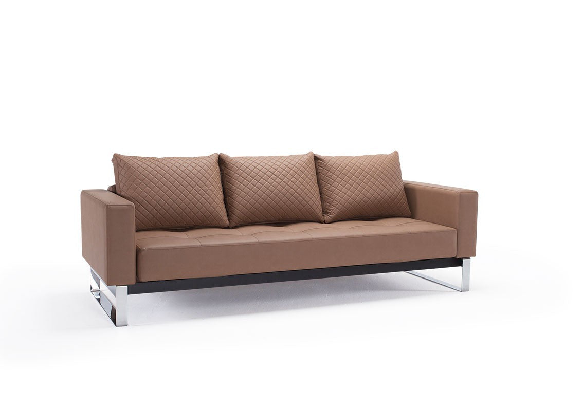 Cassius Q Deluxe Sofa Bed - Euro Living Furniture ...