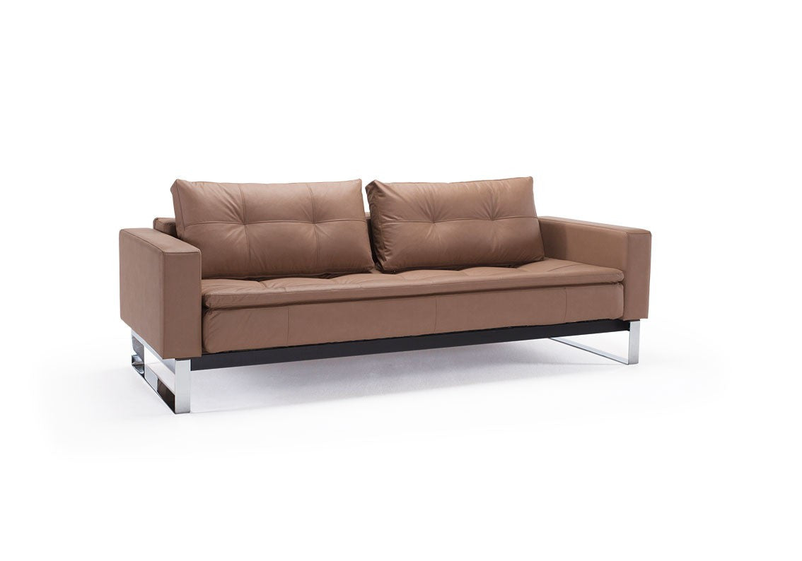 Dual Sofa Bed With Arms - Euro Living Furniture
