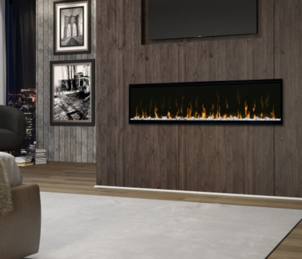 "Aquila 60"" Linear Electric Fireplace"