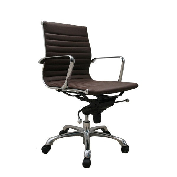 Comfy Low Back Office Chair - Euro Living Furniture