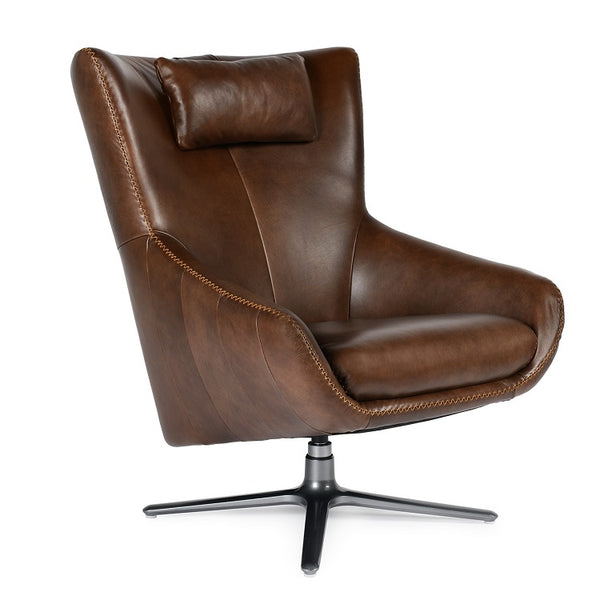 Castro Accent chair in Tobacco Leather