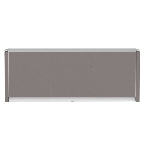 Mag Glass Top Sideboard by Calligaris