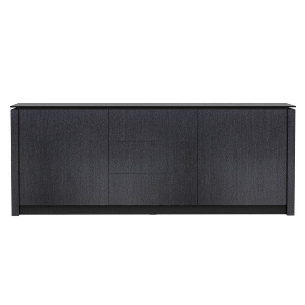 Mag Glass Top Sideboard by Calligaris Euro Living Furniture : mag dining sideboard grt blk1 from www.eurolivingfurniture.com size 600 x 600 jpeg 12kB