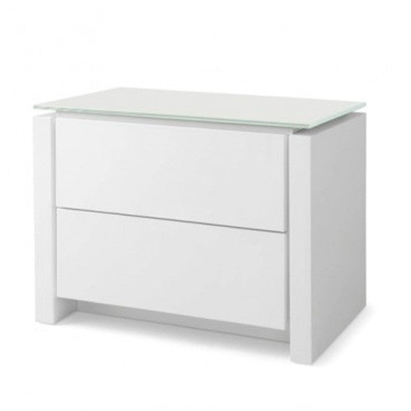 Mag 2 Drawer Night Stand - Euro Living Furniture