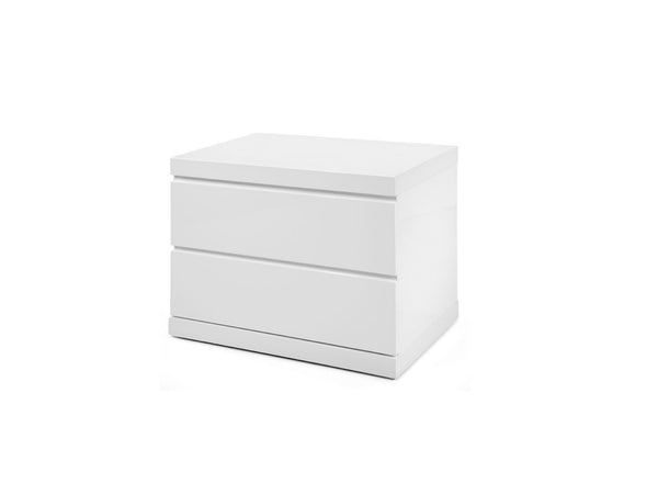 Joanna Night Stand Small - White