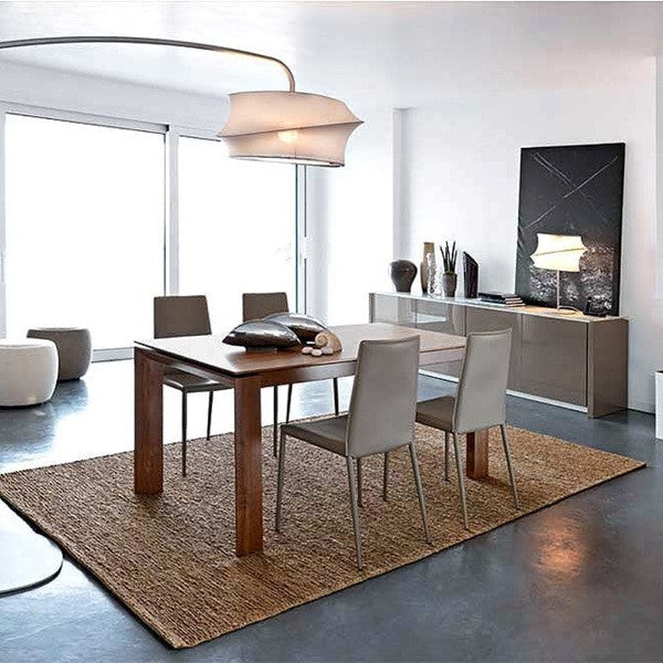 Omnia Wood Adjustable Extension Dining Table - CS/4058-LL 180 - Euro Living Furniture