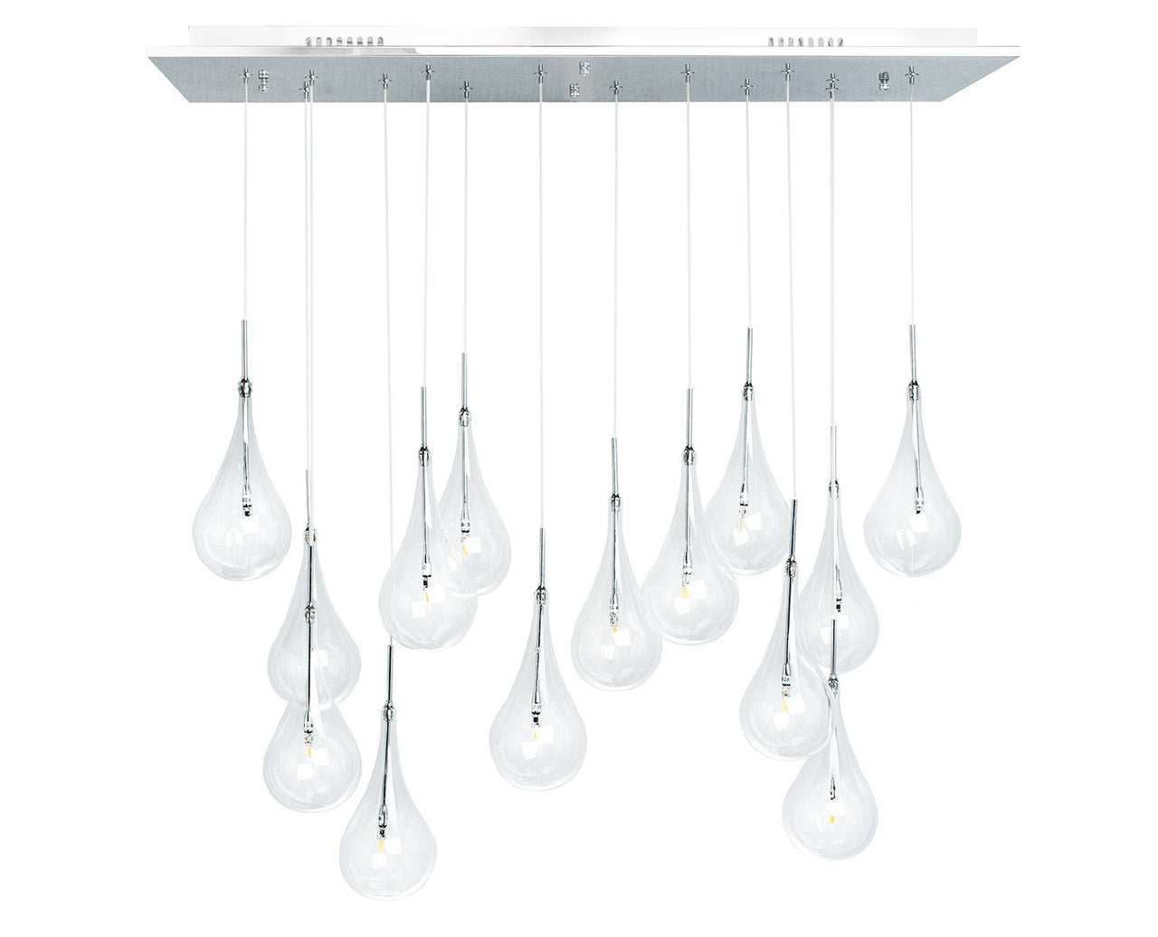 FITZ 14 LIGHT LED CHANDELIER