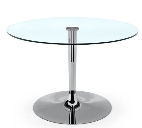 Planet Round Glass Table by Calligaris - Euro Living Furniture