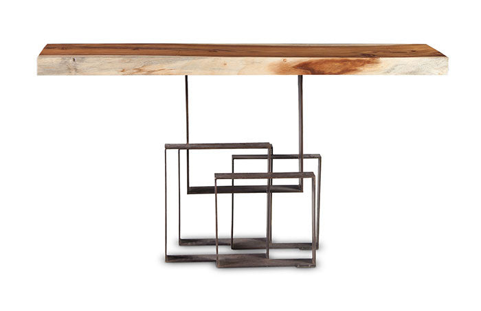 Score Console Table - Euro Living Furniture