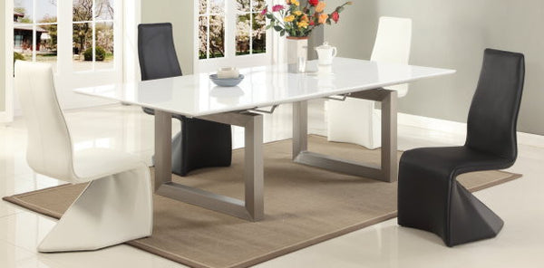 Ebony Dining Table - Euro Living Furniture