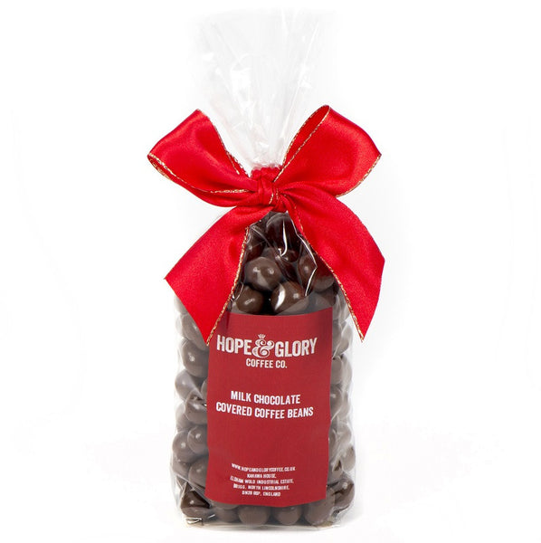 Hope & Glory Coffee Co - Milk Chocolate Covered Coffee Beans