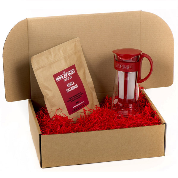 Cold brew coffee gift basket - Hope & Glory Coffee Co
