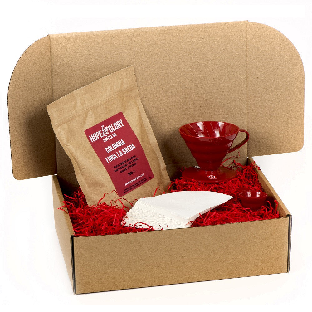 Hario V60 coffee gift basket - Hope & Glory Coffee Co
