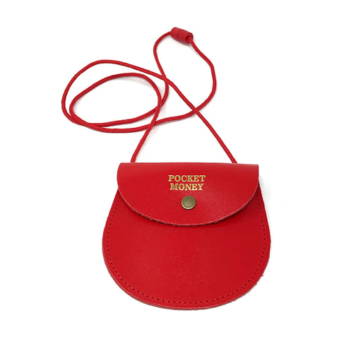 Pocket Money Purse - Red