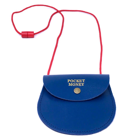 Pocket Money Purse - Blue