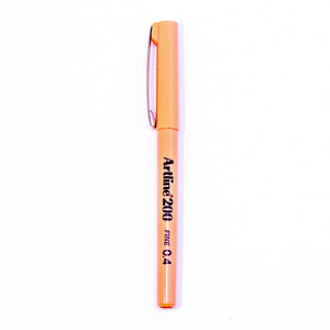 Artline 200 Fineliner Pen - Apricot