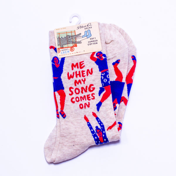 'Me When My Song Comes On' Socks
