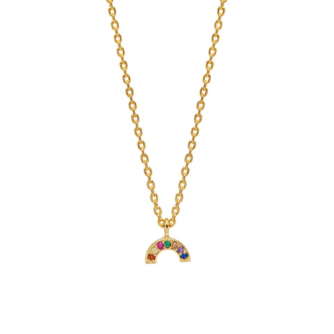 Estella Bartlett Mini Rainbow Necklace