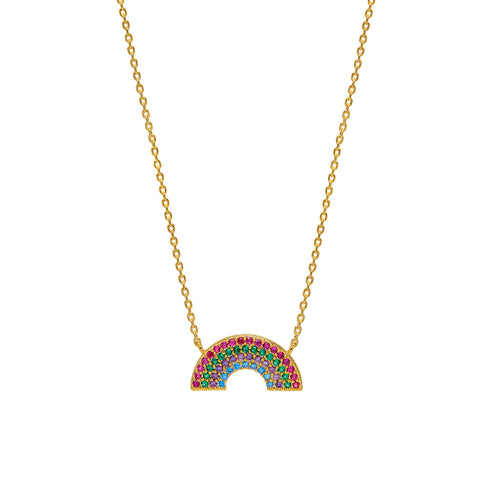 Estella Bartlett Rainbow Necklace