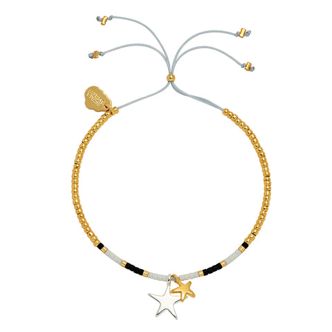 Estella Bartlett Double Star Bracelet