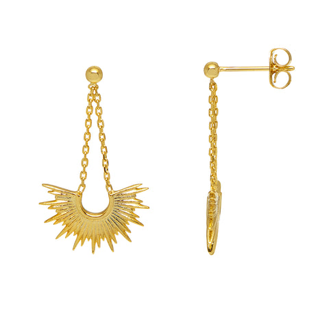 Estella Bartlett Sunburst Earrings