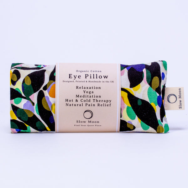 Organic Cotton Eye Pillow - Fronds