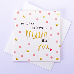 So Lucky Mother's Day Card