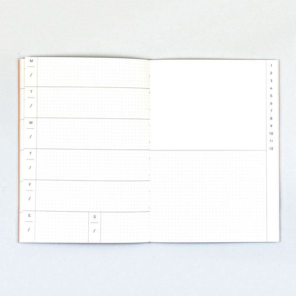 Weekly Planner - Cut Out Shapes - The Completist