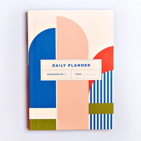 Daily Planner - Bookends No.1 - The Completist