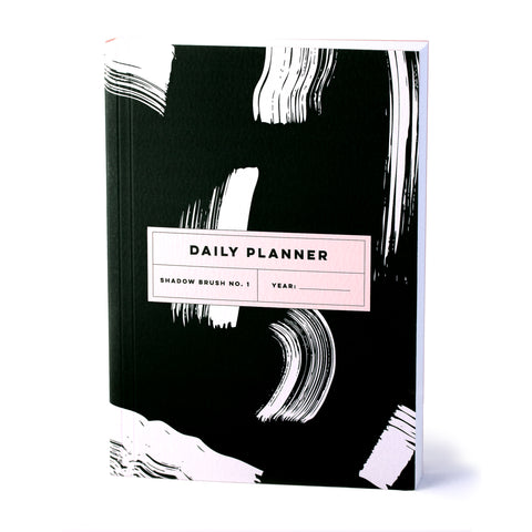 Daily Planner - Shadow Brush No.1 - The Completist