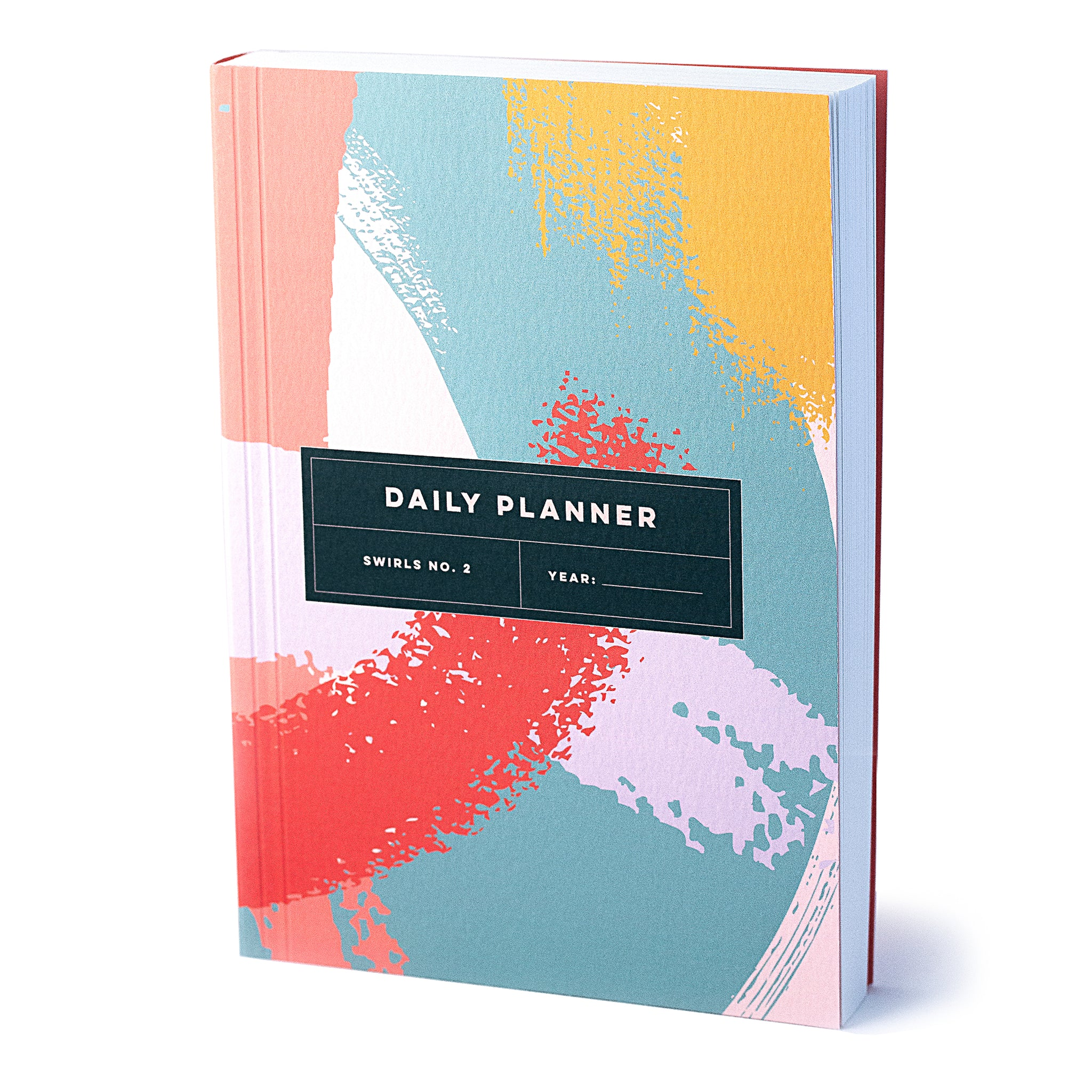 Daily Planner - Swirls No.2 - The Completist