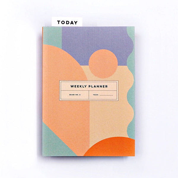 Pocket Weekly Planner - Miami No.2 - The Completist
