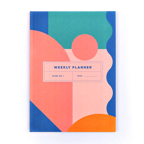 Weekly Planner - Miami No.1 - The Completist