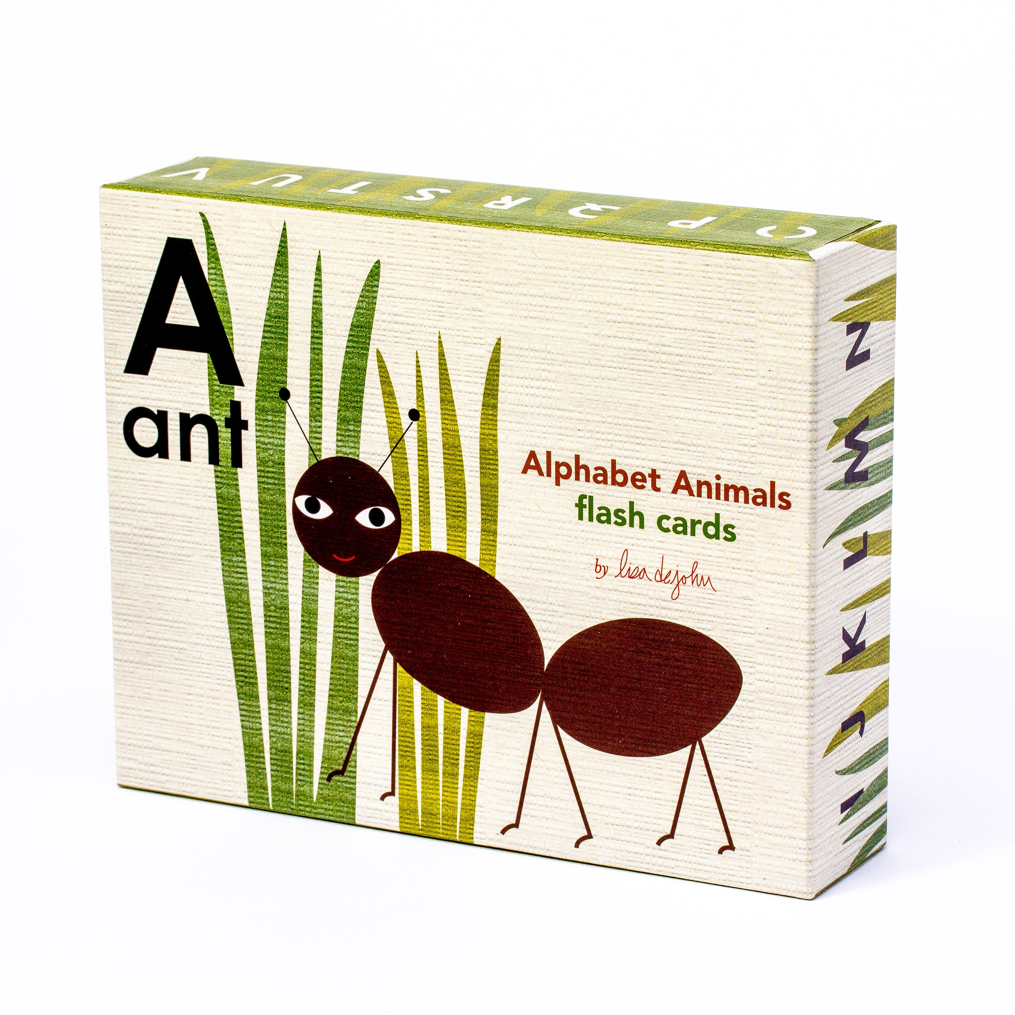 Alphabet Animals Flash Cards
