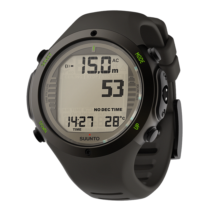 Suunto D6i Novo Stealth and USB