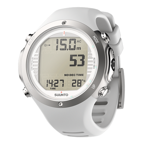Suunto DX Silver Titanium and USB
