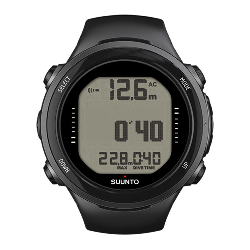 Suunto D4i Novo Black and USB