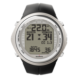 Suunto DX Silver Elastomer and USB