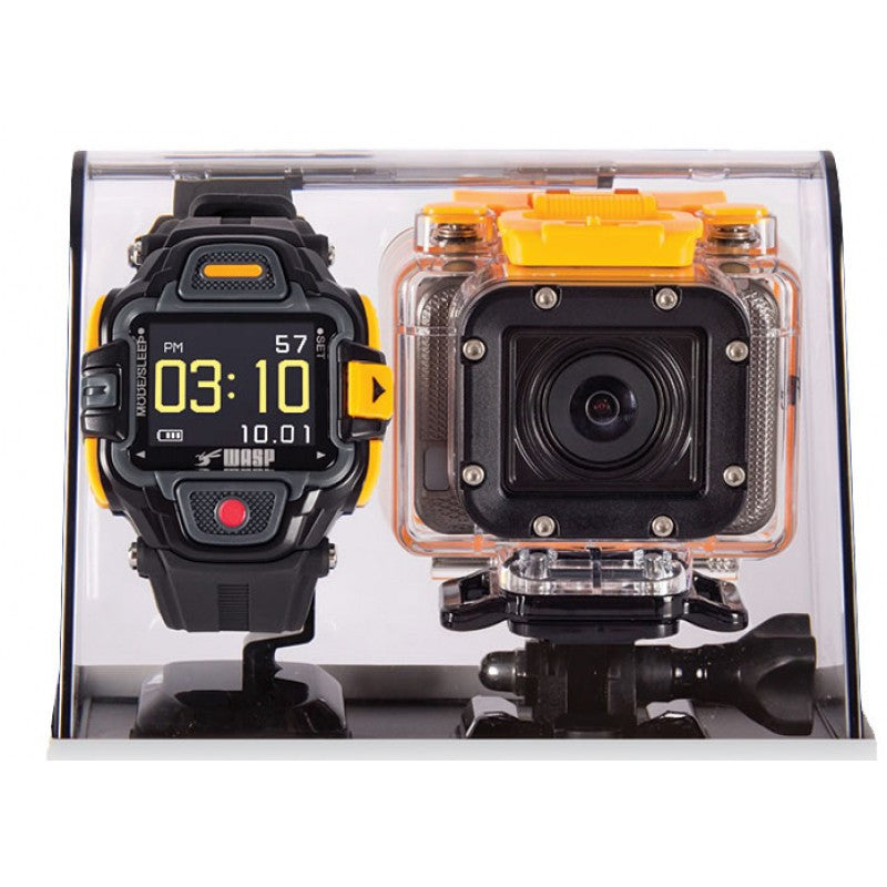 WASP Action Camera with LVD Display Wrist Controller
