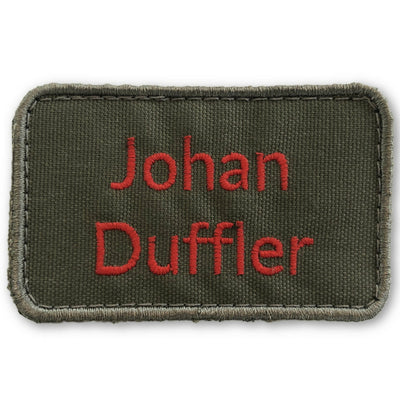 Personal Name Patch