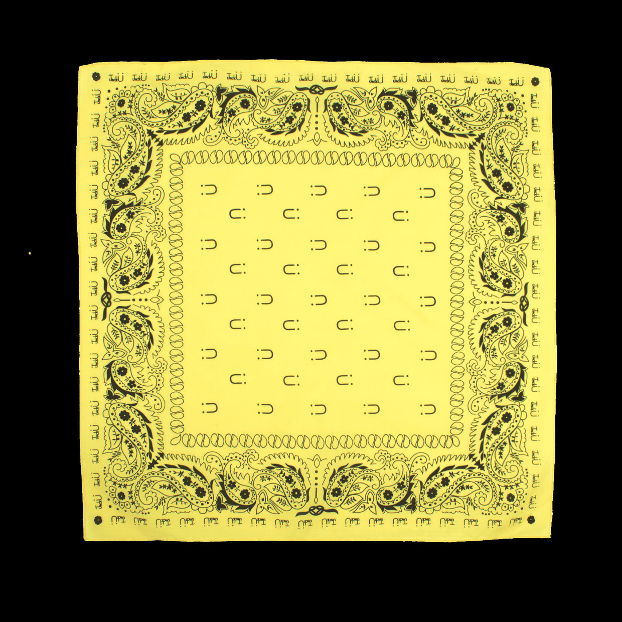 'JACK Ü' Yellow Bandana