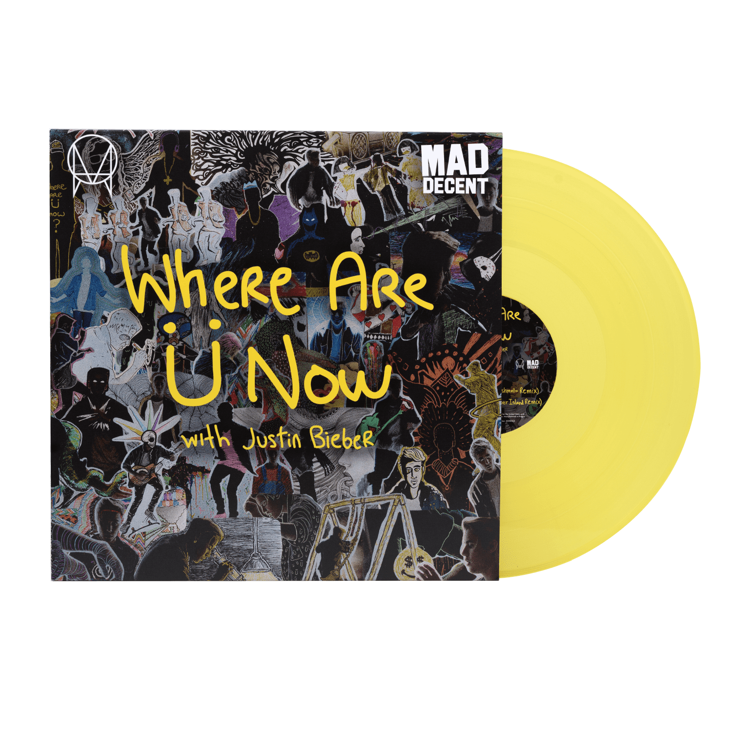 'WHERE ARE Ü NOW (featuring Justin Bieber)' Vinyl