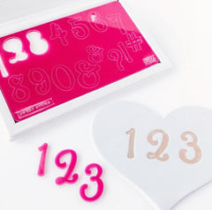 Sweet Stamp: SWEET STICKS Numbers & Symbols